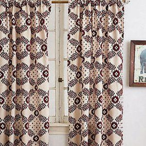 Anthropologie - Pair of Curtain Panels